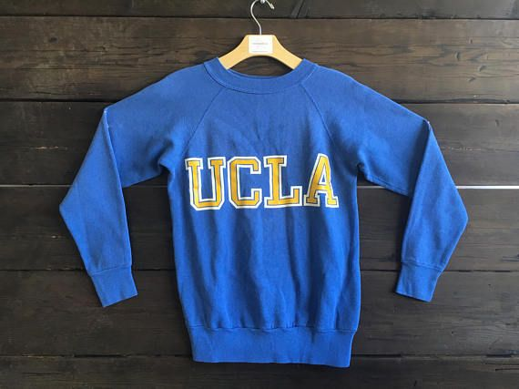 c0fa6bfbdae Vintage 80 s UCLA Pullover