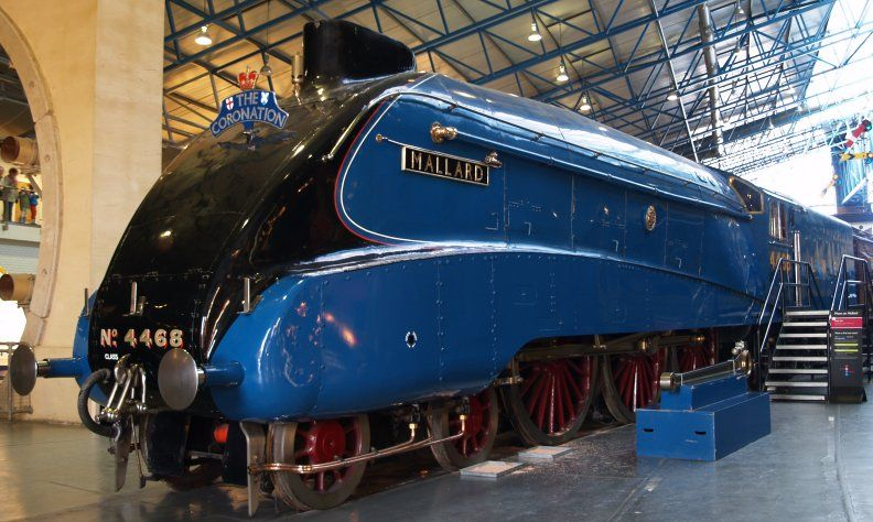 York NRM 9d. ex LNER DYNAMOMETER car Steam