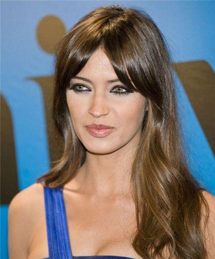 La Moda En Tu Cabello Flequillo Abierto Peinados 2015 Makeup