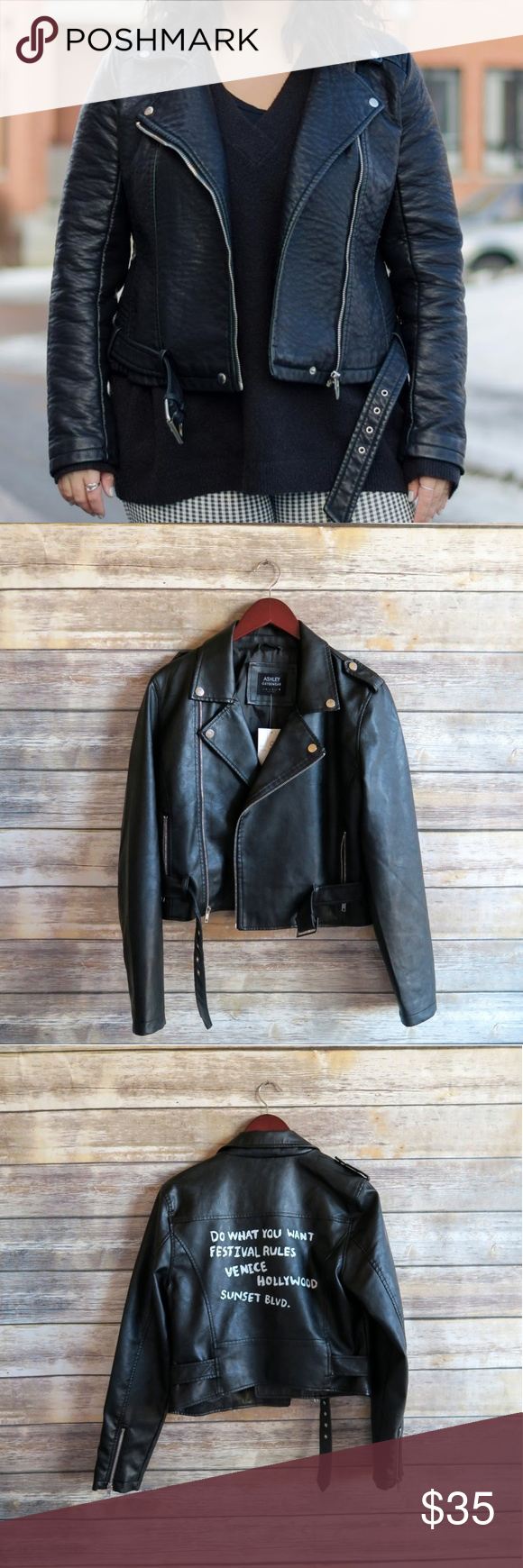 Black Faux Leather Jacket Black Faux Leather Jacket Leather Jacket Brands Faux Leather Jackets [ 1740 x 580 Pixel ]