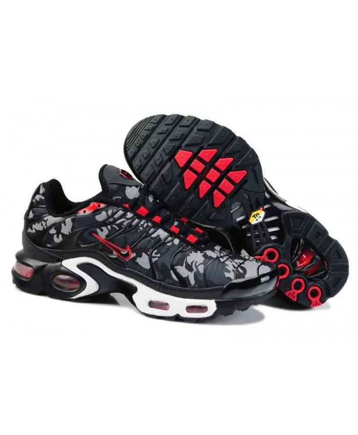 best sneakers 3af6a 55284 Cheap Nike Air Max TN Mens Black Grey Red Sale