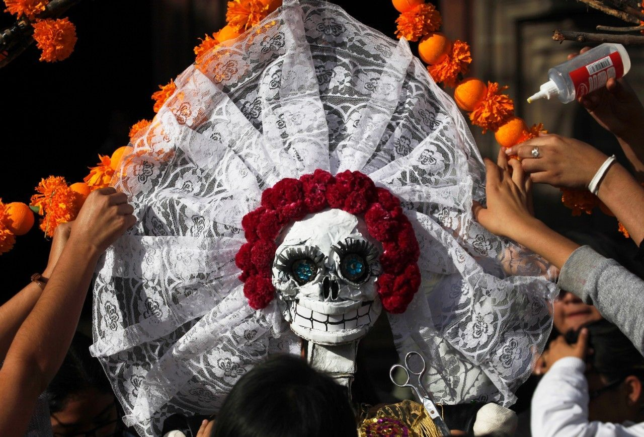 Movie, zombies, Halloween changing Mexico's Day of the Dead #Lifestyle #iNewsPhoto