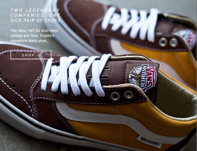 05831fa717 This Vans shoe is a collaboration between two legendary skate companies