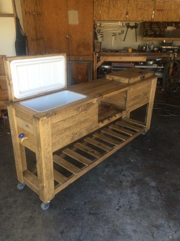 Rustic wood coolers for Sale in El Monte, CA - OfferUp ...