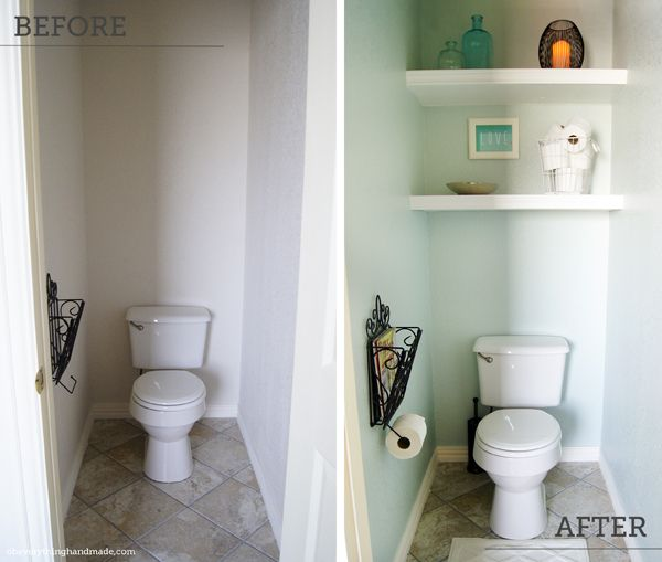 Sneaky Storage Tricks For A Tiny Bathroom Lonely Nook And - Washroom storage for small bathroom ideas