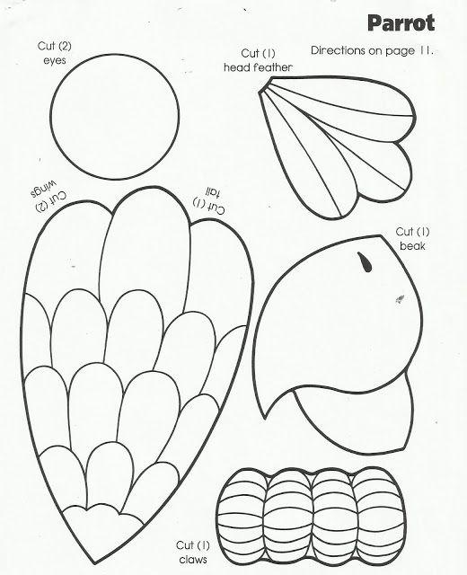 Parrot Arts And Crafts For Kids Google Zoeken