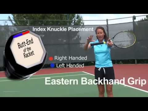 How To Hit A One Handed Backhand Beginner Tennis Youtube In 2020 Beginner Tennis Beginners Tennis