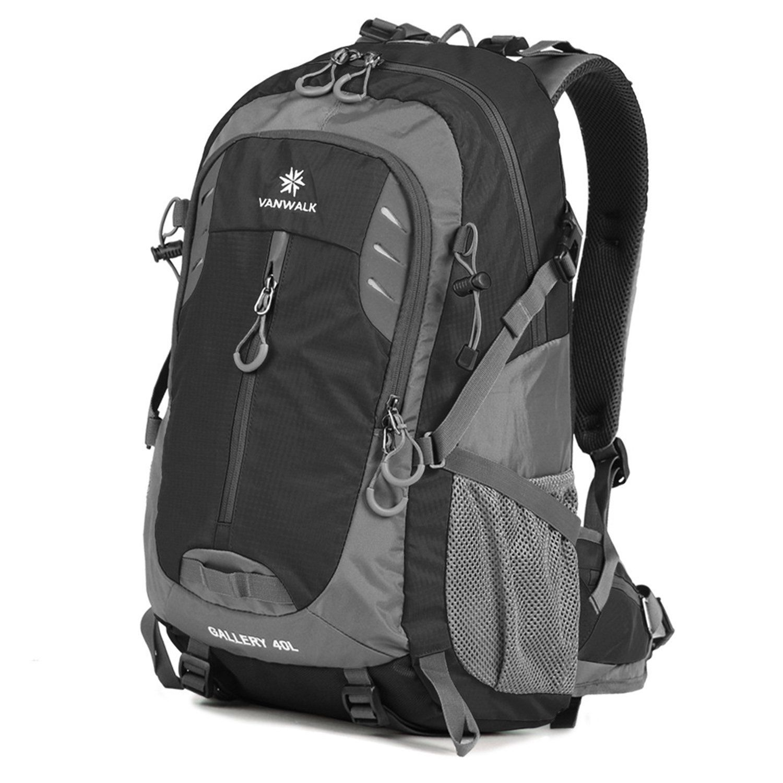 Vanwalk 35L / 40L Hiking Backpack Water-resistant Lightweight ...