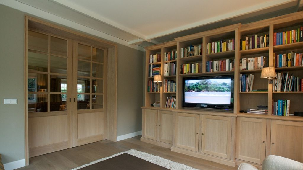 Audio video wand antonissen interieurbouw breda interieur op maat