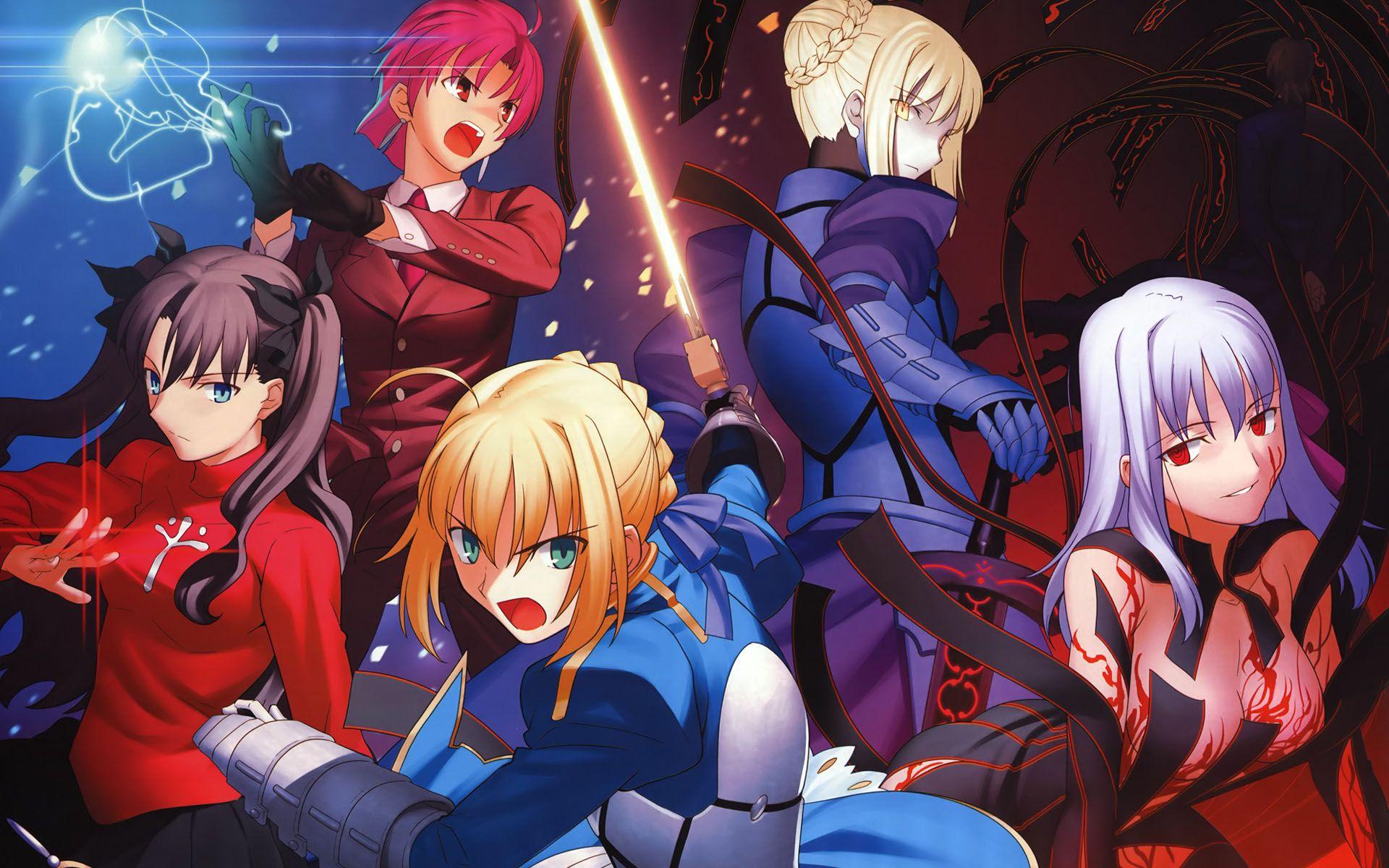Nahu And Friends Fate Hollow Ataraxia Novela Visual English Arte Anime Anime Artes