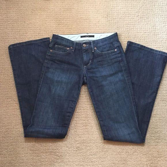 """Joes jeans Dark denim Joes Rocker jeans  boot cut 26"""" waist with 32"""" inseam Joe's Jeans Jeans Boot Cut"""