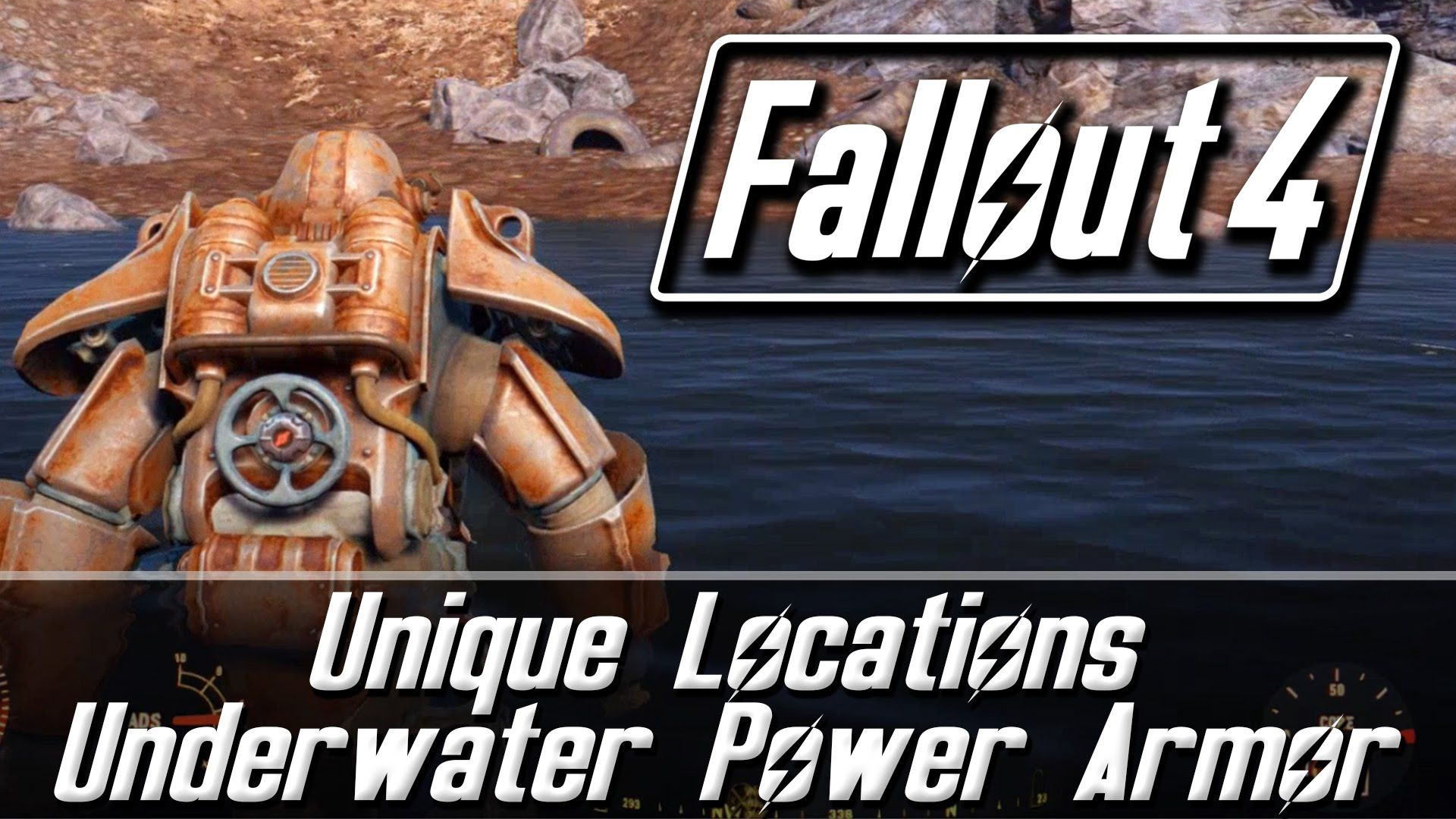 Fallout 4 Unique Locations Underwater Power Armor Revered Legend Fallout 4 Secrets Fallout Fallout 4 Power Armor