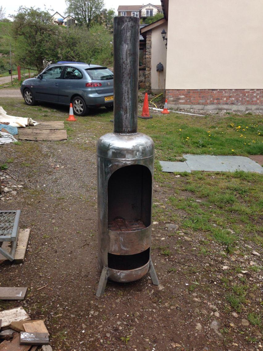 gas bottle wood burner welding board in 2019 gas. Black Bedroom Furniture Sets. Home Design Ideas