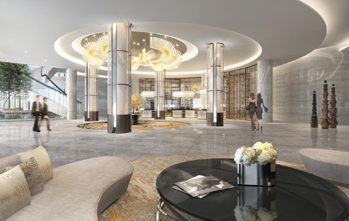 Pin by hui on hotel interiors lobby design lobby - Interior design schools in atlanta ...
