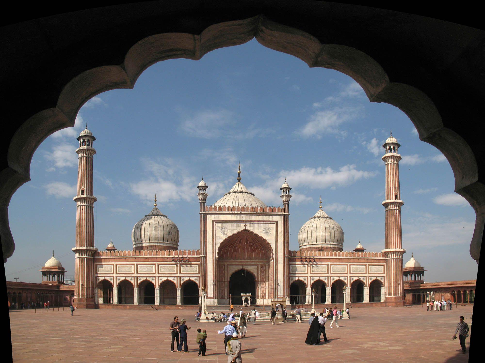 المسجد الكبير نيودلهي Jama Masjid Jama Masjid Delhi Masjid