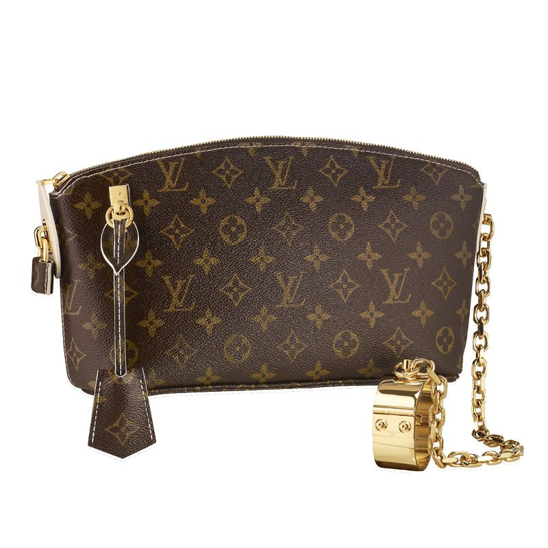 6dc6553bec4 Louis vuitton Women HandBags>Replica LV Handbags>M40596 LOCKIT CLUTCH