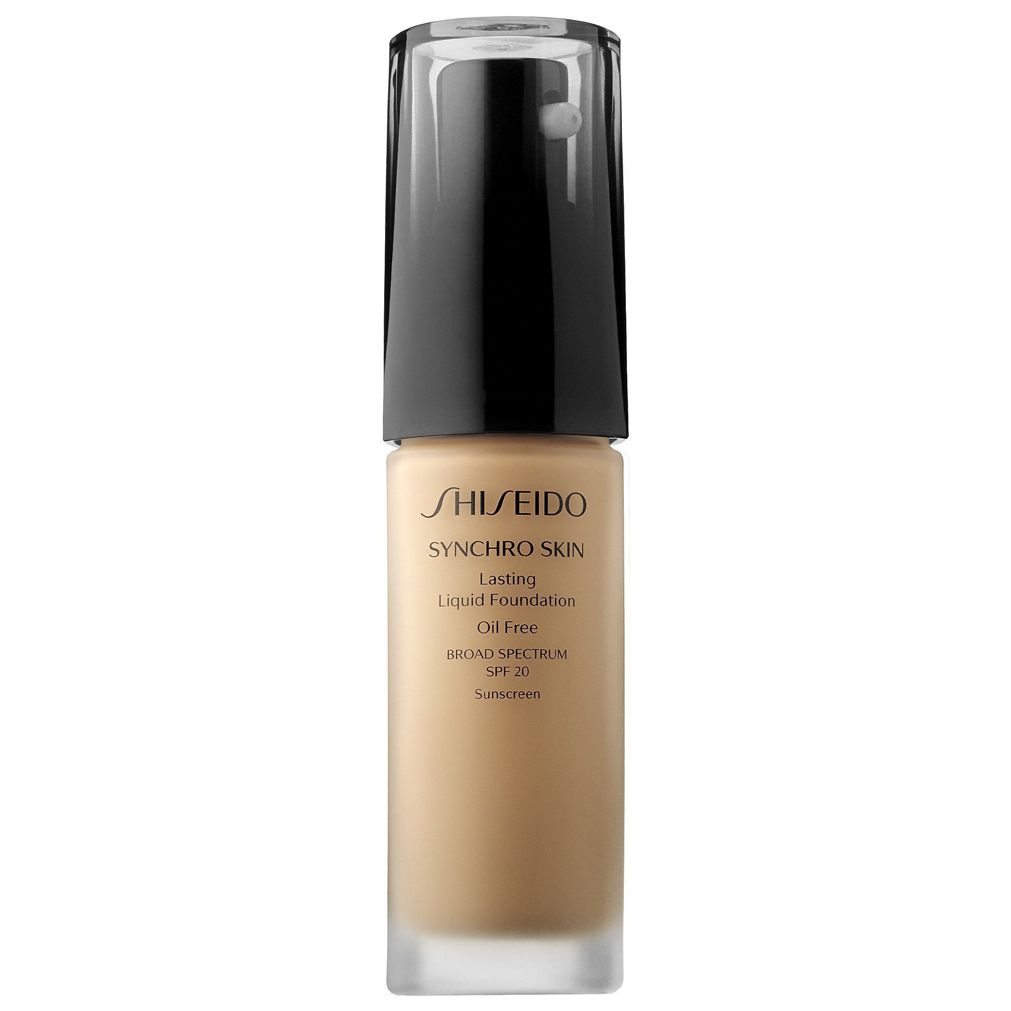 Shiseidos Synchro Skin Lasting Liquid Foundation Broad Spectrum SPF 20 at Sephora It provides medium buildable coverage and is long lastingShop Shiseidos Synchro Skin Las...