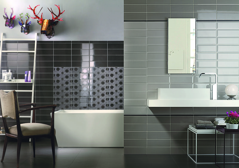 Tonalite silk 434 grafite 10x30 433 piombo 10x30 432di polvere diamantato tiles - Piastrelle simili al parquet ...