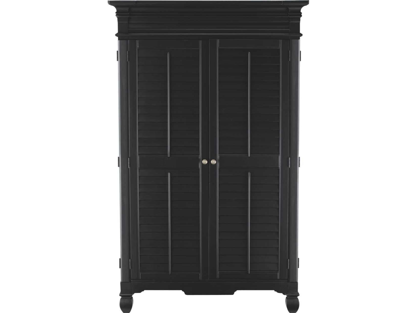 7178bd1ca64d5d0a84b03d9750bf3b10 plantation cove black armoire value city furniture  at fashall.co