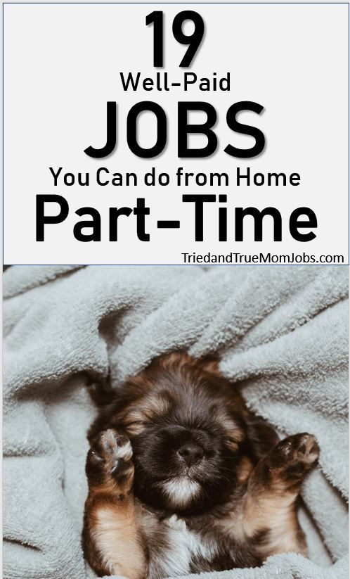 19 Best Part Time Online Jobs In 2020 That Pay Well I Earn 5 000 Mo W 1 Earn Money From Home Legit Work From Home Make Money From Home