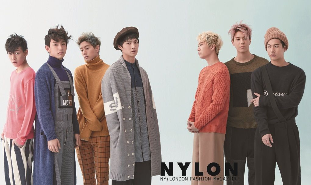 GOT7 - Nylon Magazine December Issue '14