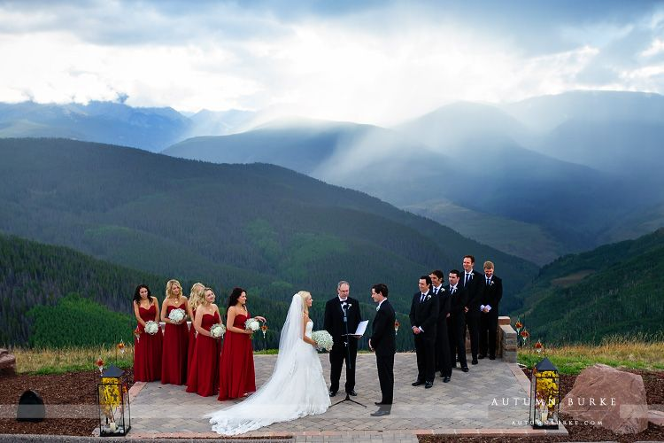 Vail Colorado Autumn Burke Photography Wedding Vail Wedding Venues Toronto Mountain Wedding Garden