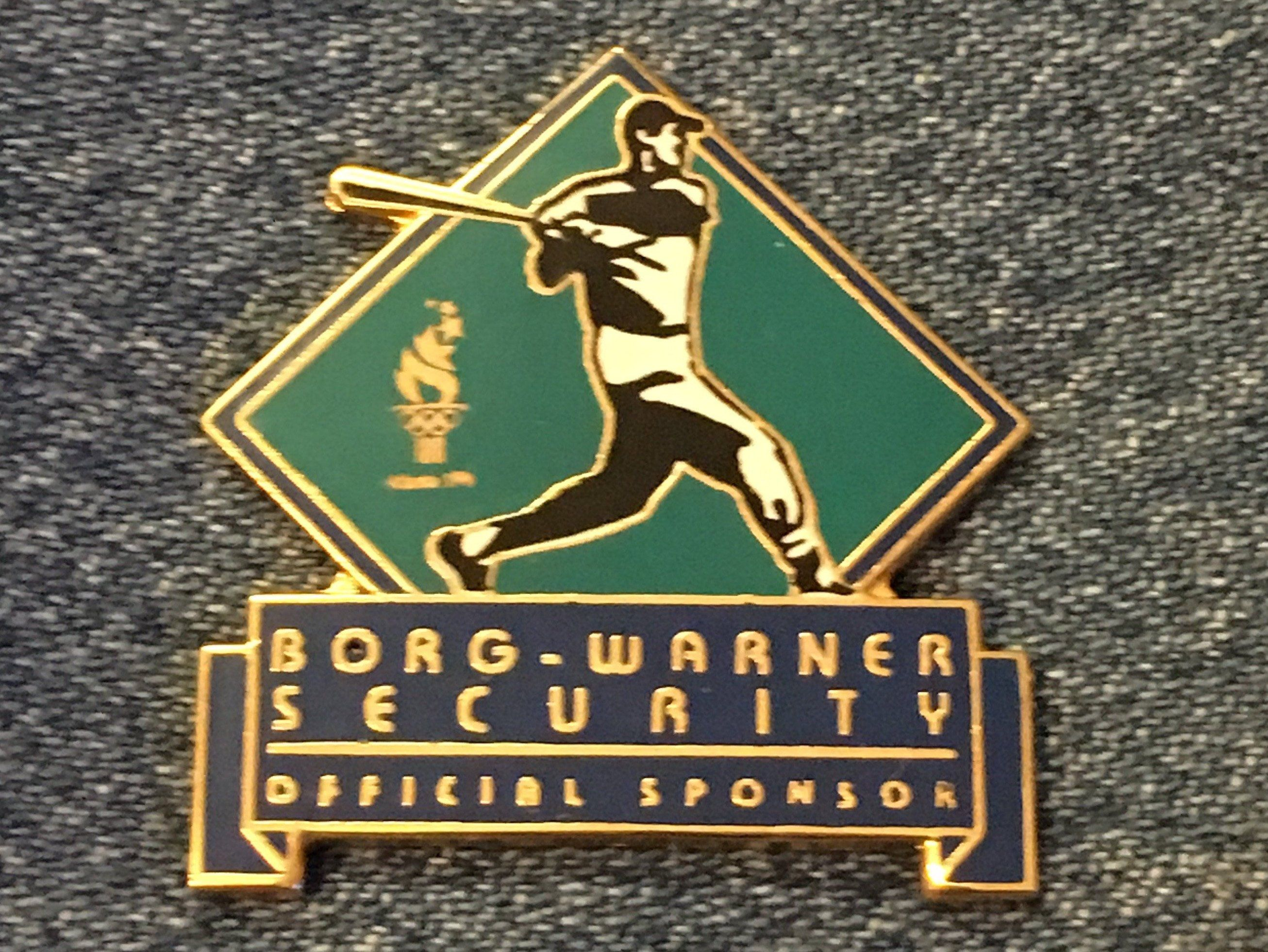 Baseball Olympic Pin 1996 Atlanta Summer Games Sponsor