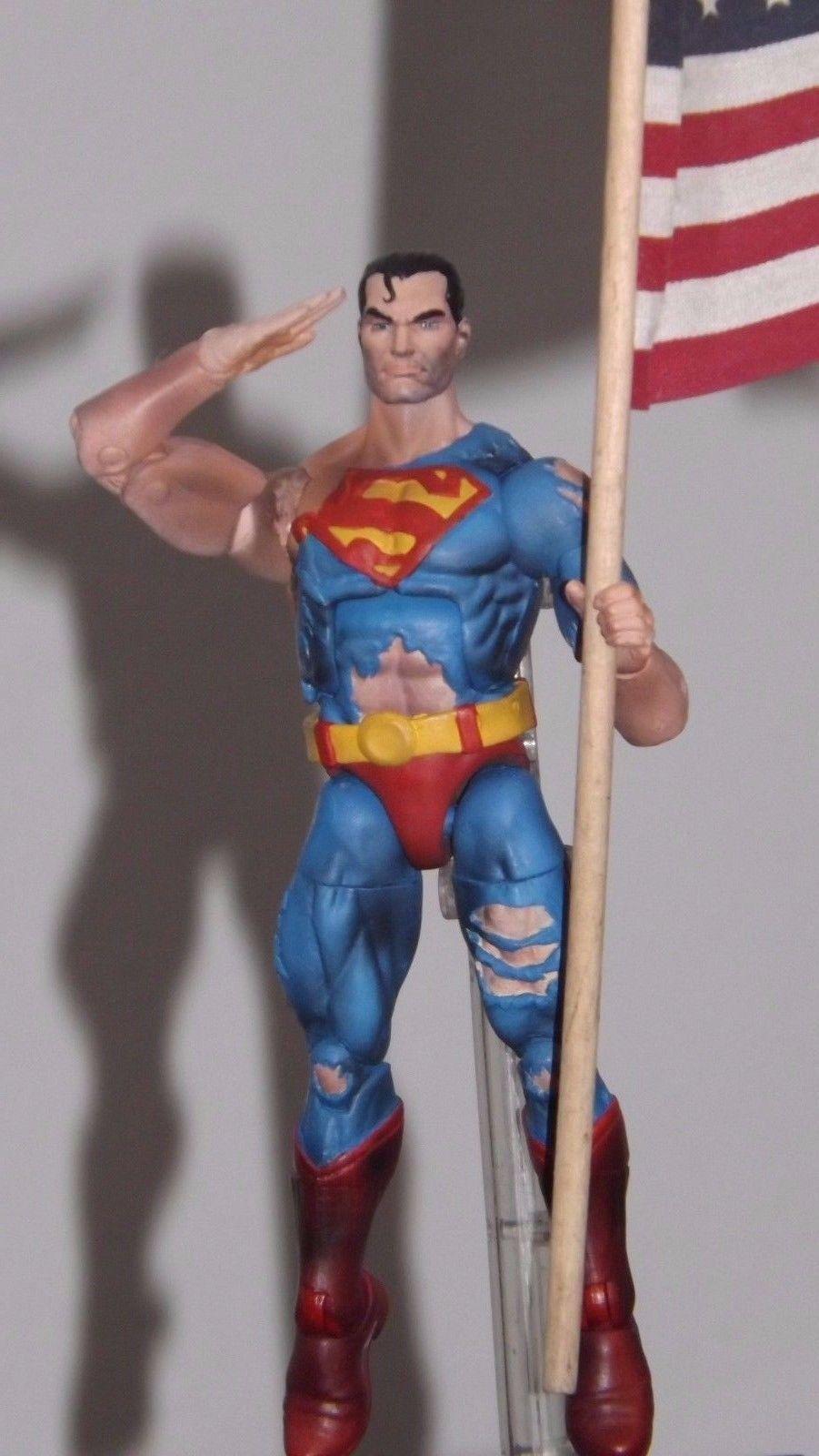 Marvel Legends Dc Universe Custom Superman Batman Deadpool Hasbro