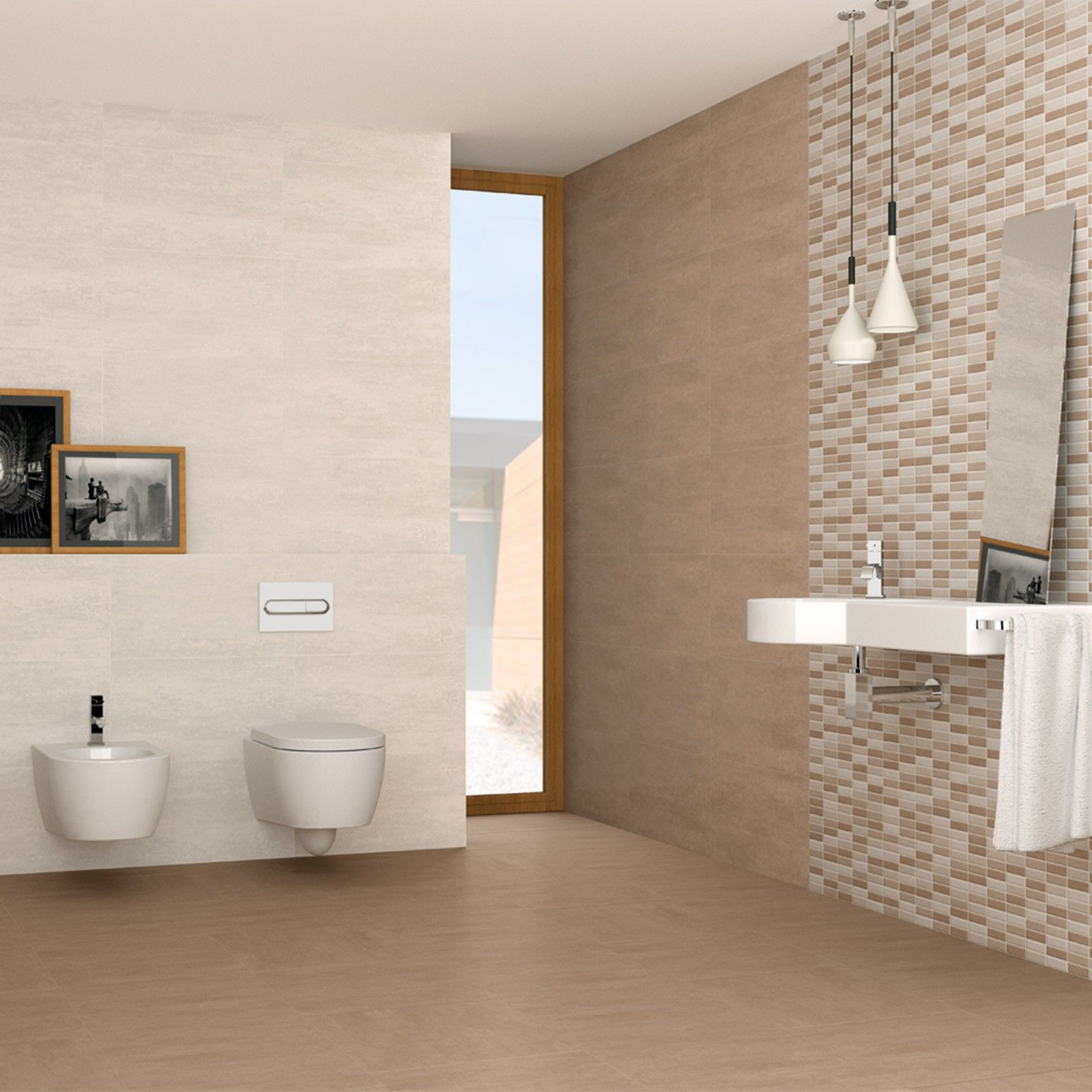Beige Bathroom Designs Interesting Mr Serpal Beige Linea Tile  Bathroom Ideas  Pinterest  Beige Inspiration Design