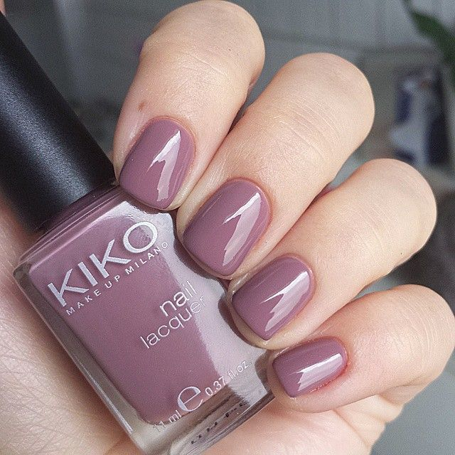 KIKO - Light Mauve | Perfectly Polished | Mauve nails, Nails ...