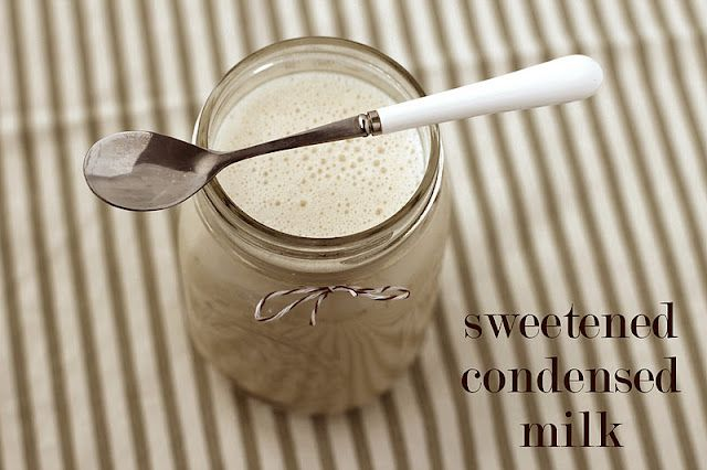 Fat Free, Sugar Free, High Protein Sweetened Condensed Milk