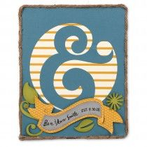 Ampersand Wall Décor | Paper craft projects, Paper crafts