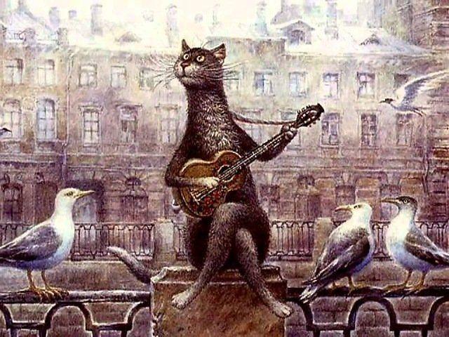 черный кот рисунок  19 тыс изображений найдено в Яндекс.Картинках ... b1ba3b70a40e4
