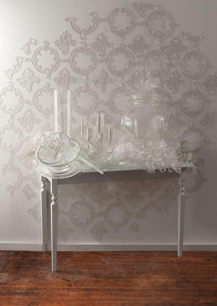 Cut table negative space sculpture show pinterest negative space