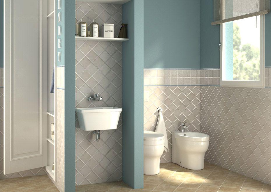 bagno lavanderia con guardaroba: una soluzione per la famiglia ... - Bagni Moderni Leroy Merlin