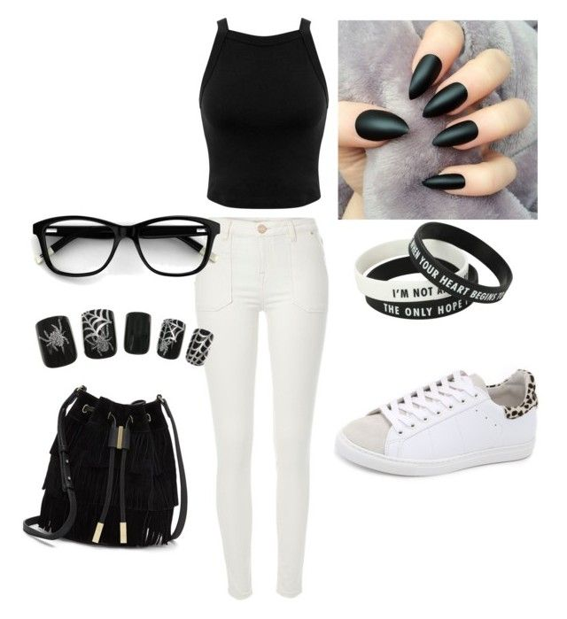 """""""Untitled #38"""" by asirane-nyame on Polyvore featuring River Island, IRO, Miss Selfridge and Vince Camuto"""