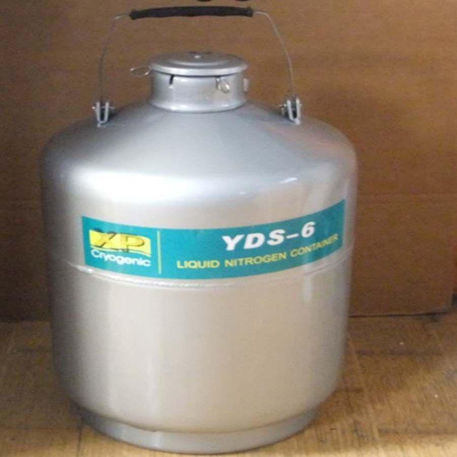 Aluminum Alloy Cryogenic Container Liquid Nitrogen Storage Container Liquid Nitrogen Tank Yds 6 Liquid Nitrogen Cryogenic Nitrogen