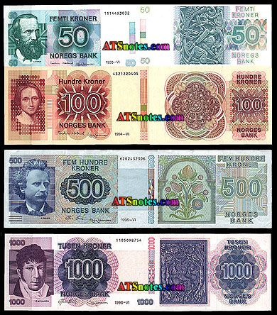 Norway Currency Norway Banknotes Norwey Paper Money Catalog And Norwegian Currency Bank Notes Norway Currency Design