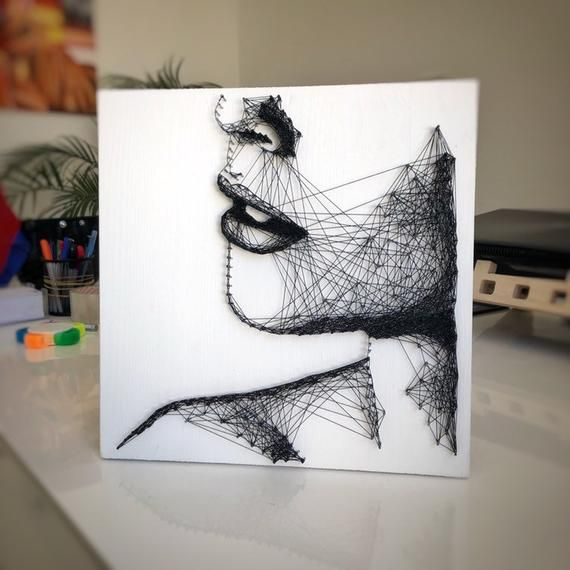 String art wall decor