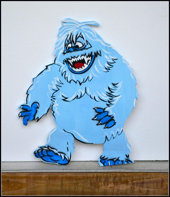 Christmas Yard Art, Christmas Garden Decoration - Abominable Snowman