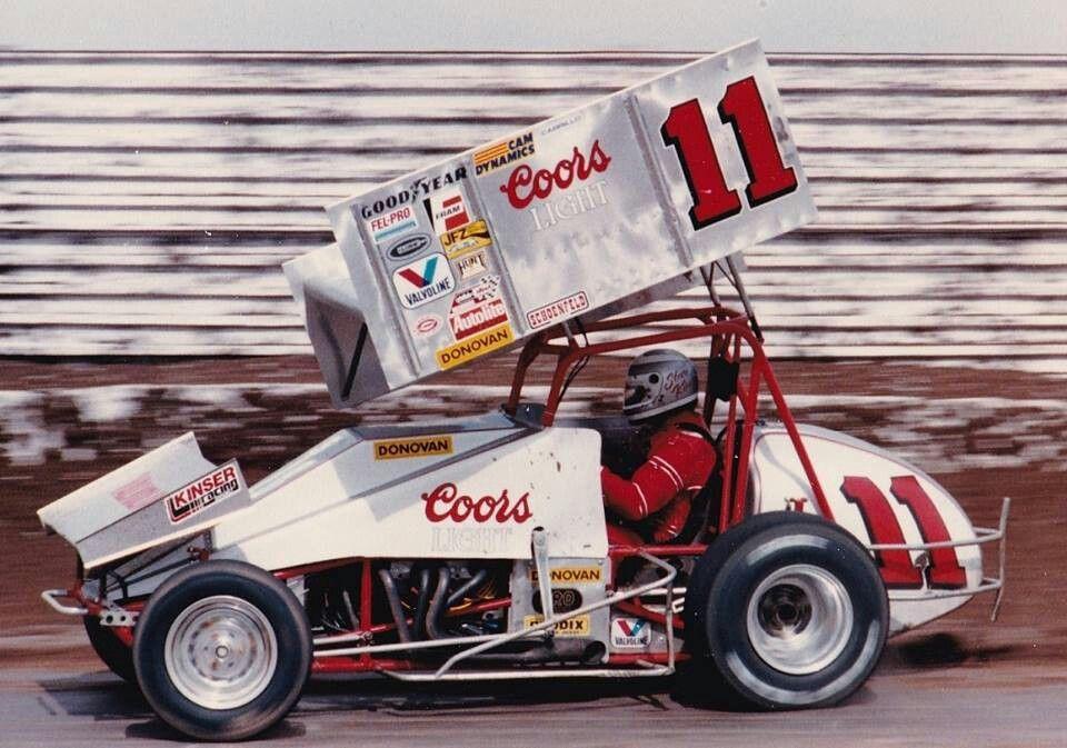 11 Steve Kinser / Throwback Sprint car racing, Old race