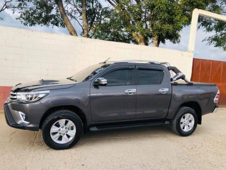 Toyota Hilux 2017 Full Mecanico De Segunda Venta De Carros En