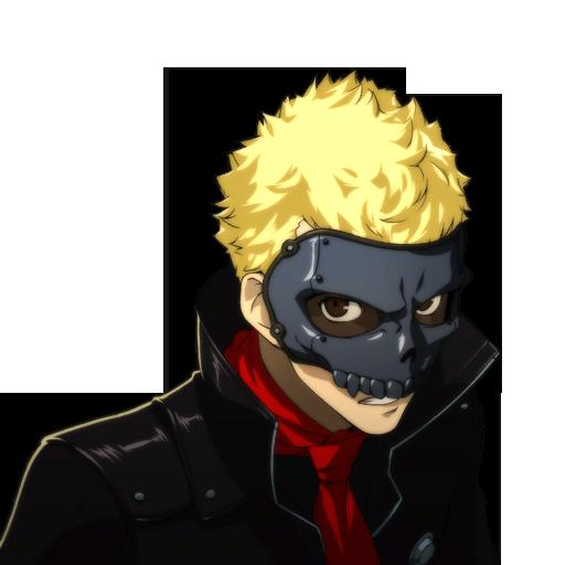 Skull Portrait Ryuji Sakamoto Persona 5 Persona
