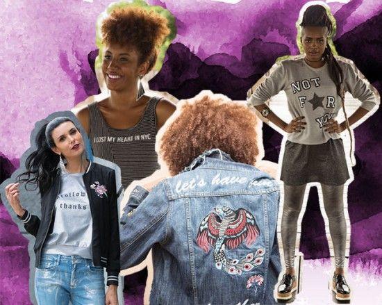 Deixa que a roupa fale por você - frases nas peças de outono-inverno 2017 da C&A. Quer conferir mais tendências? Clica na foto!