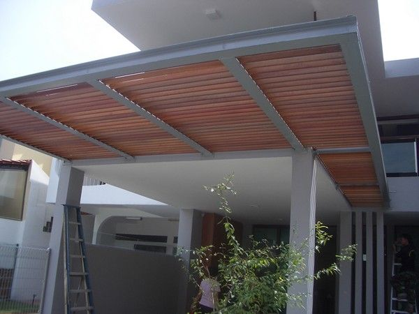 Car Porch Design Polycarbonate Google Search Casas