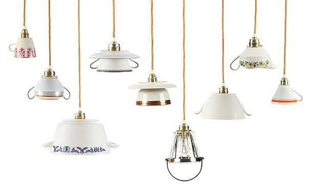 Moderne Lampen 9 : 9 bijzondere lampen accesoires lights design tea cups