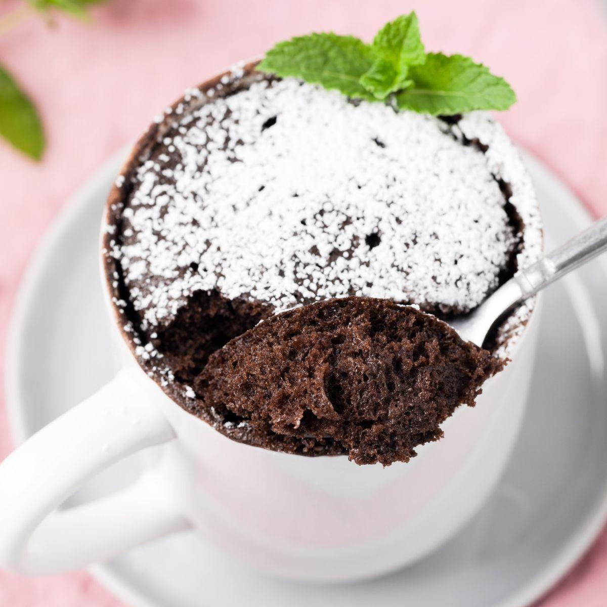 Perfect Chocolate Mug Cake #mugcake This is one amazing ...