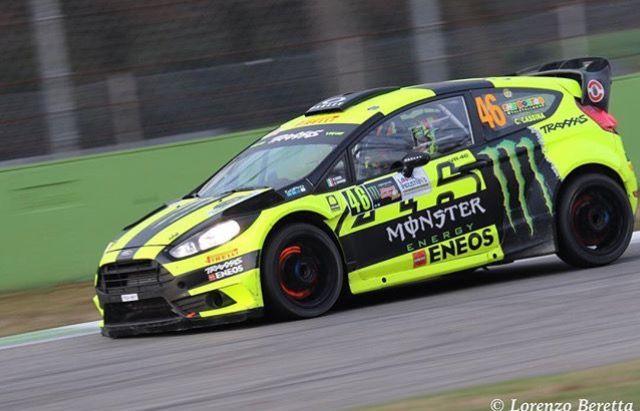 Valentino Rossi 1 Valentino Rossi Ford Racing Ford Fiesta St