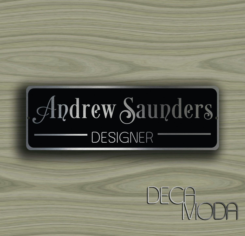 Personalized Door Sign Door Name Plate Sign Customizable Signs