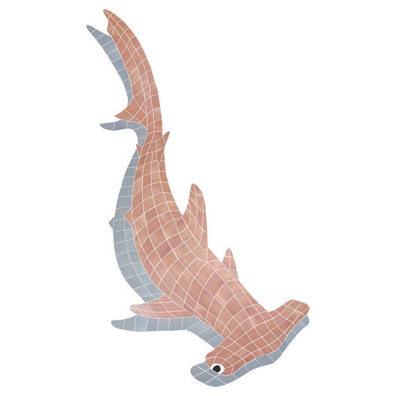 Hammerhead Shark w/Shadow